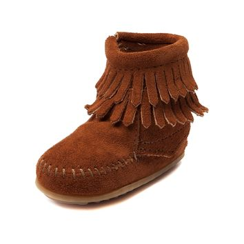 Toddler Minnetonka Double Fringe Bootie