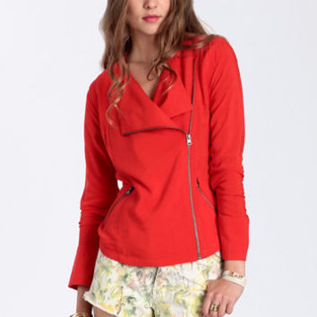 Alec Moto Jacket by BB Dakota - $63.00: ThreadSence, Women's Indie & Bohemian Clothing, Dresses, & Accessories
