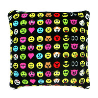 EMOTICON FLEECE PILLOW