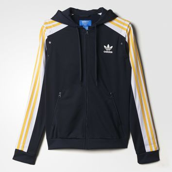 9d3965608f6a adidas Cosmic Confession Hoodie - Blue