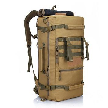 High Capacity Military Style Backpack Gear Bag