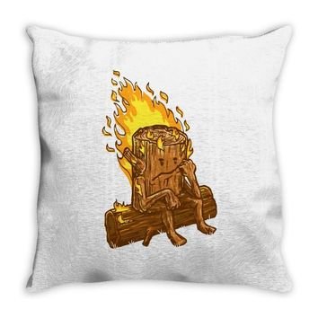 bad day log Throw Pillow
