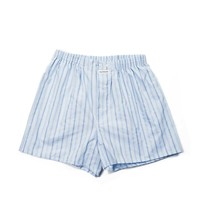 Hartford Pin Striped Boxers - Blue Boxers - ShopBAZAAR