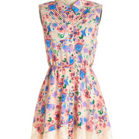 ModCloth Mid-length Sleeveless A-line Petit Four the Best Dress