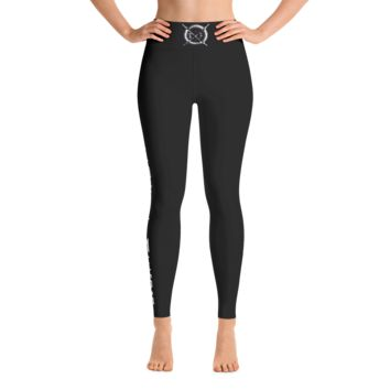 Slayed Fitness Yoga Leggings(Black)
