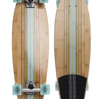 Globe Pin City Bamboo Cruiserboard - Mens Tees - Bamboo Clear Water/Green - NOSZ