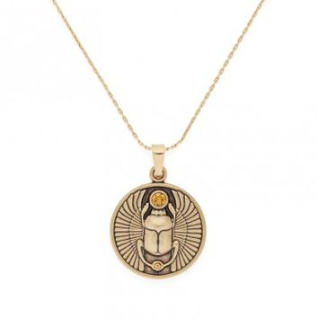 Scarab Expandable Necklace