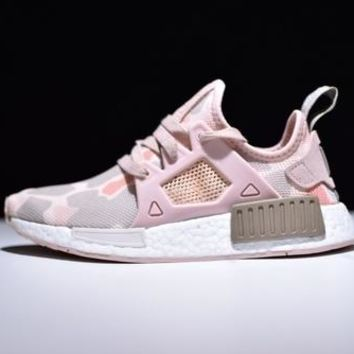 """Adidas"" NMD XR1 Duck Camo Trending Classic Women Men Casual Running Sport Shoes Sneakers Camouflage Pink I"