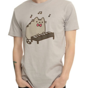 Pusheen Play Keyboard T-Shirt