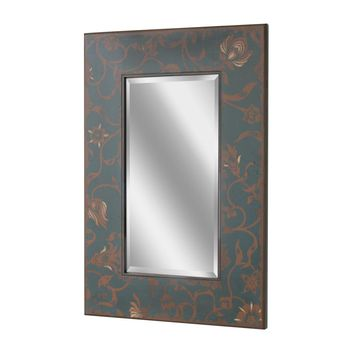 Scandinavian Floral Wall Mirror (1150) - Illuminada