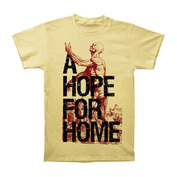 A Hope For Home Men's  Anatomy T-shirt Yellow Rockabilia