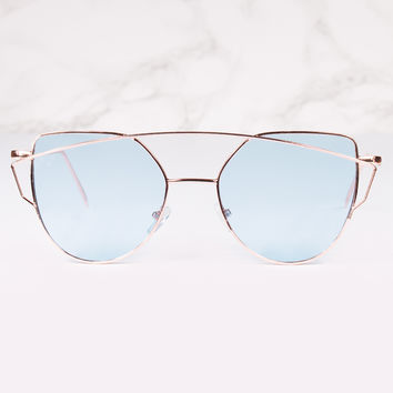 Chakra Aviator Cat Eye Sunnies
