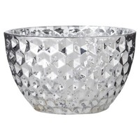 Threshold Glass Small Bowl Silver