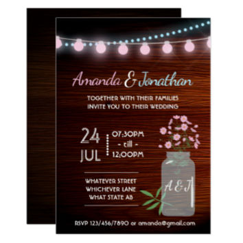 Pink and blue cosmos rustic Wedding Suite