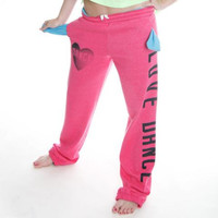 "Heartless Romantics ""LOVE DANCE"" Sweatpants"