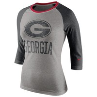 Nike Georgia Bulldogs Colorblock Top - Women's