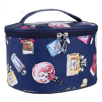 Women Water Proof Printed MakeUp Bag