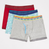 Waves 3 Pack Boxer Briefs