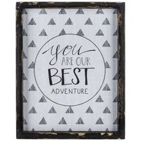 Our Best Adventure Tribal Wood Wall Decor | Hobby Lobby | 1131978