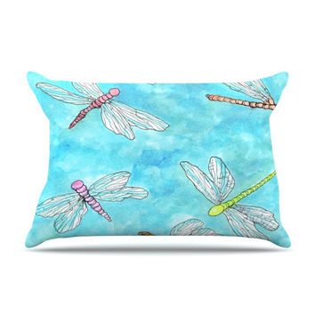 "Rosie Brown ""Dragonfly""  Pillow Sham"