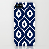 Leela Navy iPhone & iPod Case by Aimee St Hill