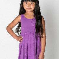 American Apparel - Organic Kids Baby Rib Skater Tank Dress