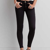 AEO Denim X Jegging, Matte Black