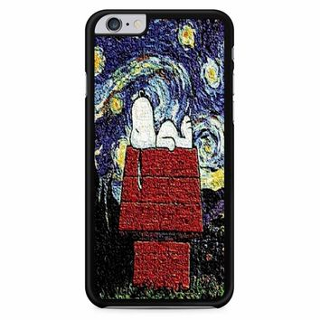 Snoopy In A Starry Night Van Gogh iPhone 6 Plus / 6s Plus Case