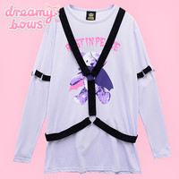 Buy Listen Flavor Rest in Peace Bear Harness Cutsew - Lavender at Dreamy Bows
