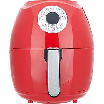 Cook's Essentials 3.4-qt Digital Air Fryer with Presets & Pans — QVC.com