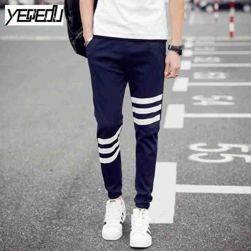 #1640 2017 Track pants men Fashion Large size 5XL Pencil pants Slim Casual trousers Jogger pants men Sweatpants Pantalon hombre