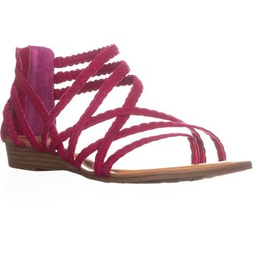 Carlos By Carlos Santana Amara 2 Braided Strap Sandals, Aza, 6.5 US / 36.5 EU