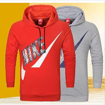 "Gotopfashion ""NIKE"" fashion women and man coat long sleeve warm Hooded pullover top PLUS SIZE"