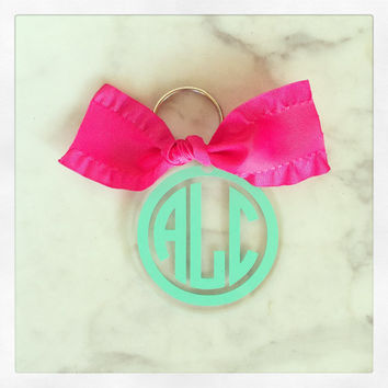 Personalized Acrylic Key Chain {Single Sided Design}