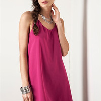 Cocktail Hour Dress - Fuchsia
