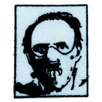ac spbest Dr. Hannibal Lecter Patch Iron on Applique Horror Clothing Silence of the Lambs