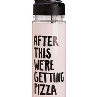 After This We're Getting Pizza Water Bottle