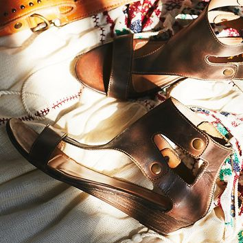 Free People Bonfire Mini Wedge Sandal