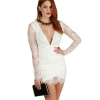 Ivory My My Baby Lace Dress