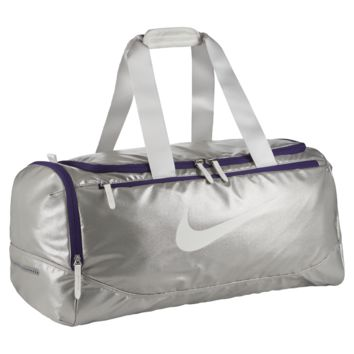 Nike Tech Court SW19 Tennis Duffel Bag (Silver)