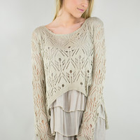Seattle Couture Knit Top