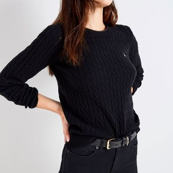 TINSBURY METALLIC TIPPING CABLE SWEATER