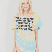 PIZZA Boyfriend Tee
