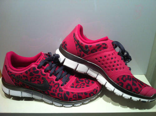 Womens Nike Pink Leopard Free Run 5 0 V4 From