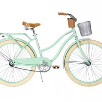 Huffy Women's Deluxe Cruiser Bike, Mint Green, 26-Inch/Medium:Amazon:Sports & Outdoors