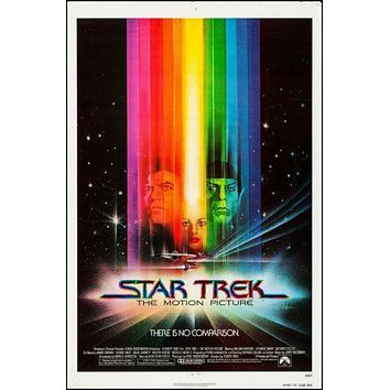 Star Trek The Motion Picture Movie poster Metal Sign Wall Art 8inx12in