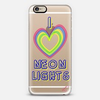 I Love Neon Lights iPhone 6 case by Love Lunch Liftoff | Casetify