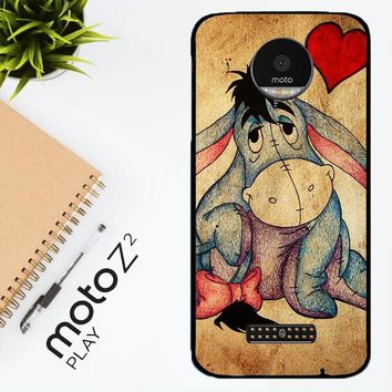 Eeyore Wallpaper Y0311 Motorola Moto Z2 Play Case