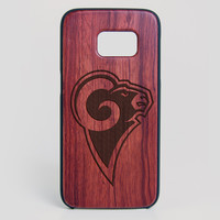 Los Angeles Rams Galaxy S7 Edge Case - All Wood Everything