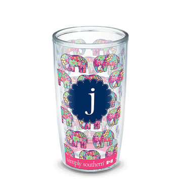 INITIAL-J Simply Southern® Elephant Wrap | Tervis Official Store